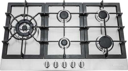 Picture of 950SLTX-E 34 Gas Cooktop with 5 Sealed Burners  Cast Iron Grates  Electronic Ignition  Flame Failure Safety Device and Easy-to-Clean Construction in Stainless