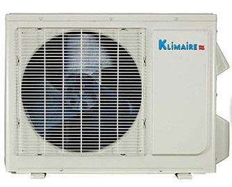 Picture of KSIO012H223OC Light Commercial Series Single Zone Outdoor Heat Pump Unit with 12 000 Btuh Cooling and Heating Capacity  R410A Refrigerant  55 dBA Sound