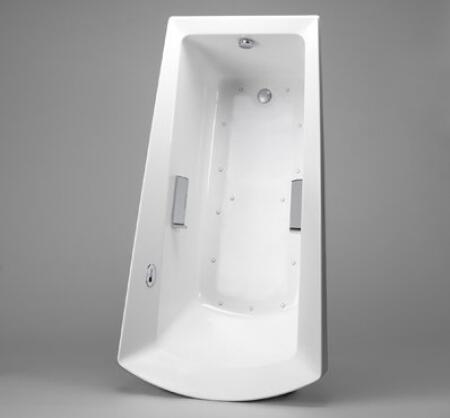 Picture of ABA964R12YBN Drop In AirPool Bath Tub Less LED with Right Keypad  Left Blower and Grab Bars from the Soiree
