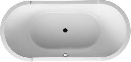 Picture of 700010 Starck Freestanding 7088 x 315 Acrylic Tub With Support Frame  In