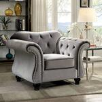 Furniture of America CM6159GYCH