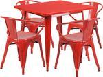 Flash Furniture ETCT002470REDGG