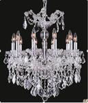 J & P Crystal Lighting 2800D22C