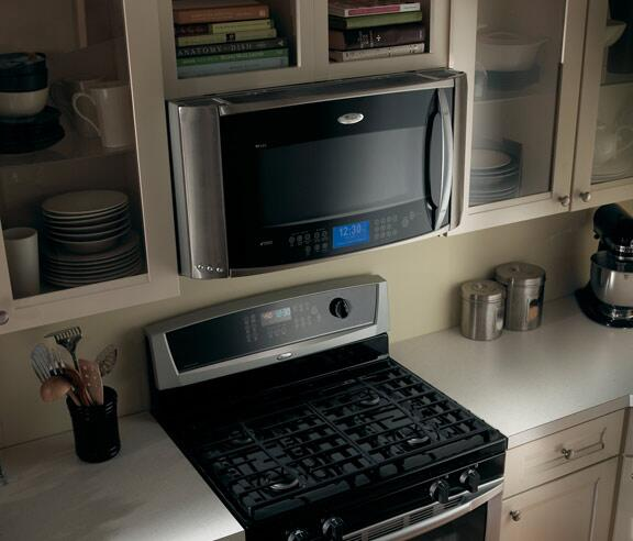 Whirlpool Gh7208xrs 2 Cu Ft Over The Range Microwave