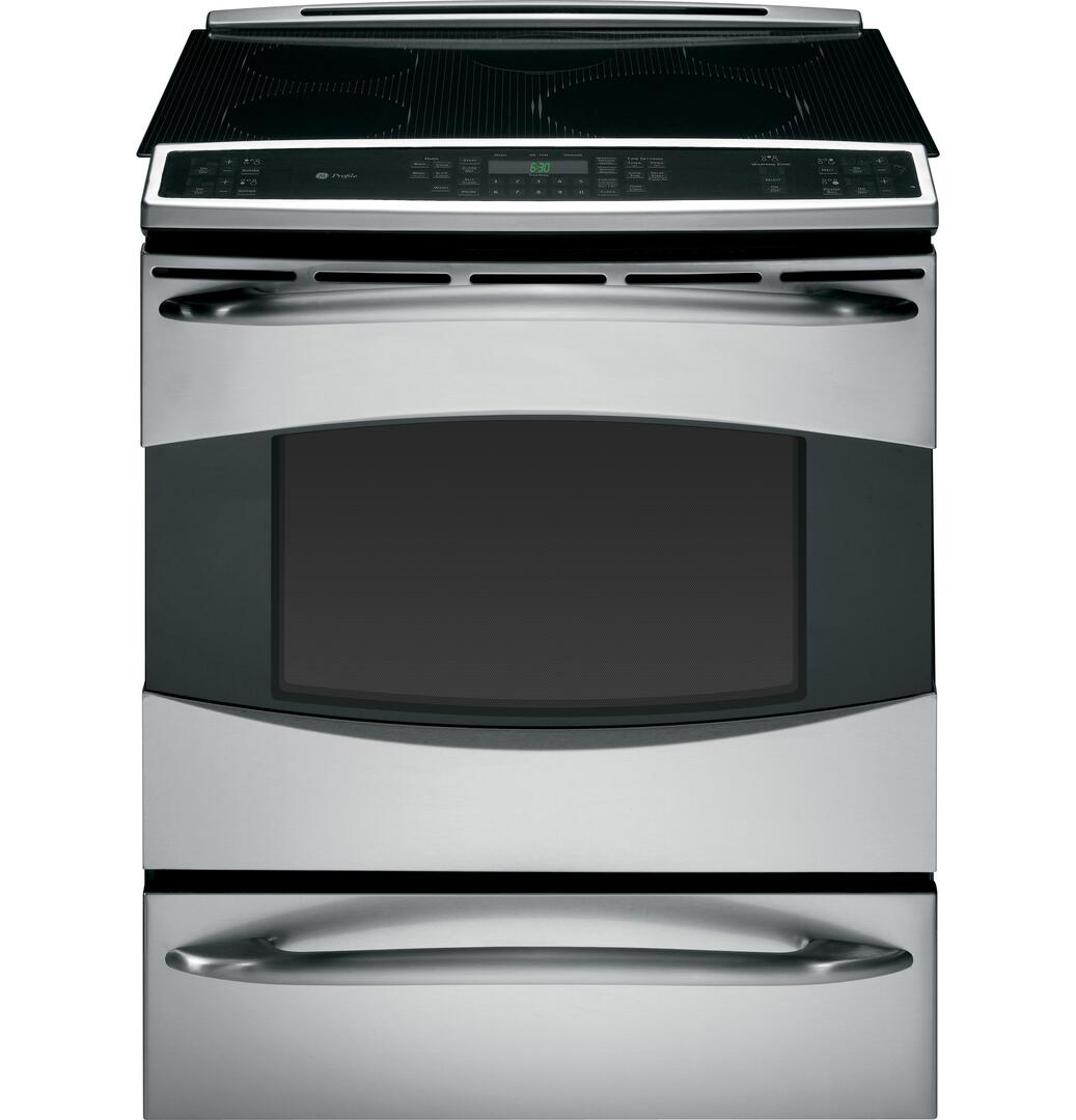 Ge Phs925stss Profile Series Slide In Electric Range With