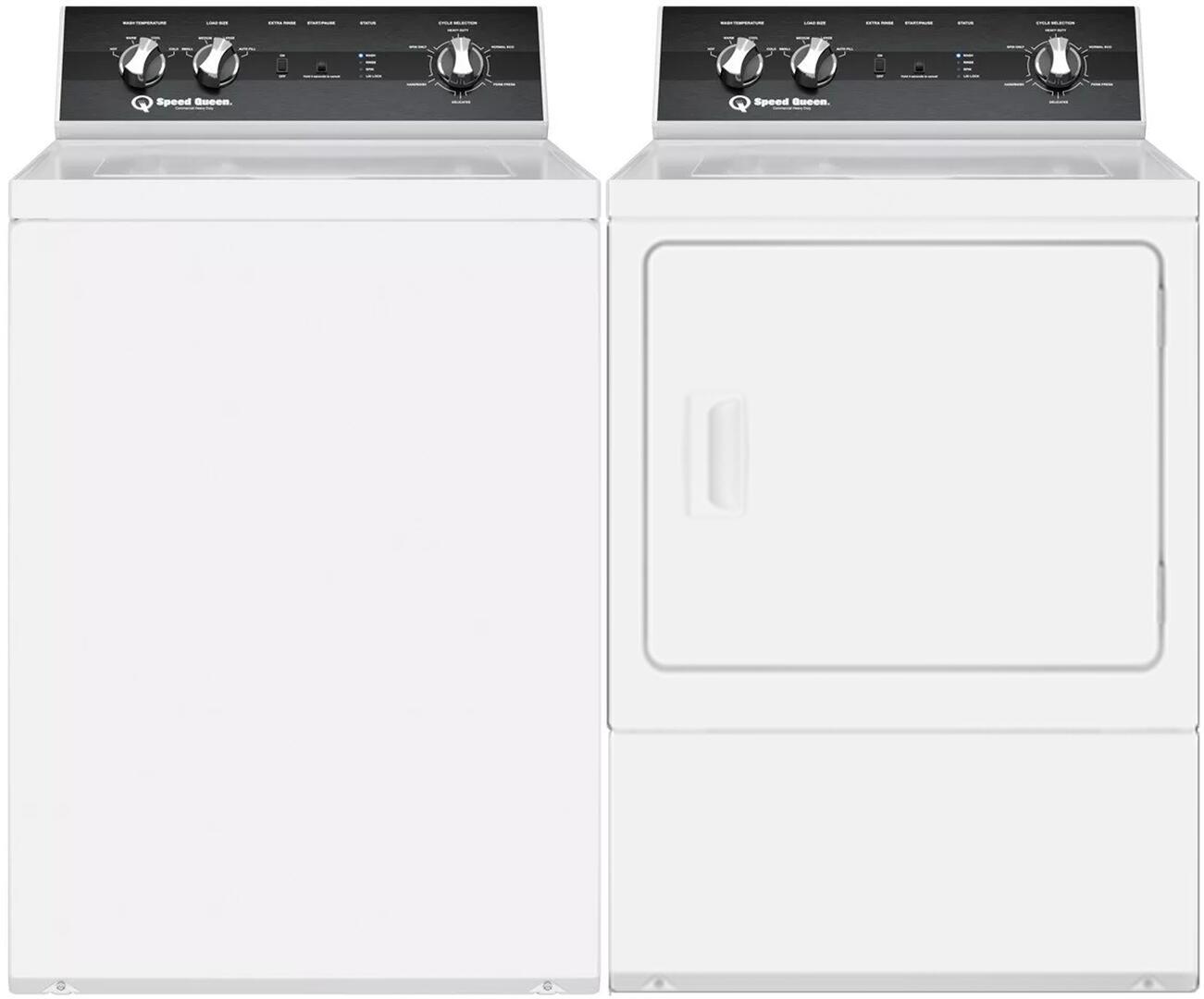 Speed Queen Residential Washer Dryer Pair