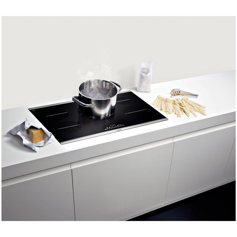 Bosch NIT8666SUC 36 Inch 800 Series 5 Element Yes Cooktop, in Black ...