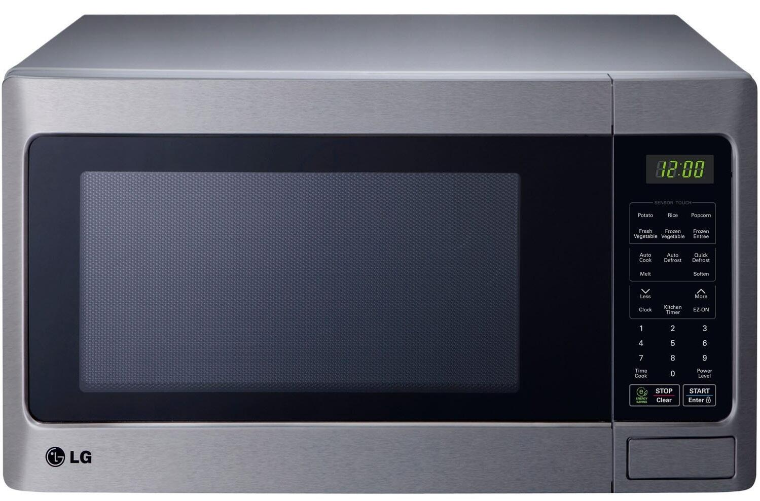 Lg Lcrt1513st Countertop Microwave In Stainless Steel