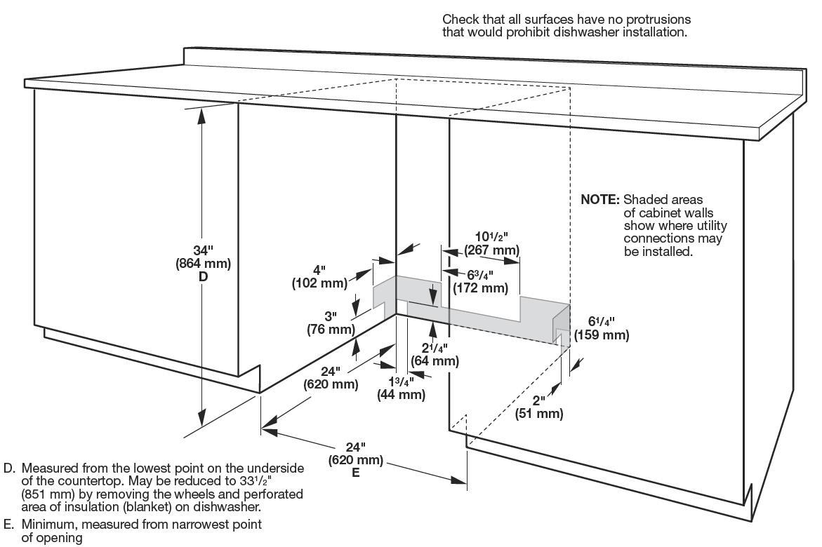 Whirlpool Wdta50sahz 24 Inch Fingerprint Resistant Stainless Steel Water Softener Wiring Diagram Cutout