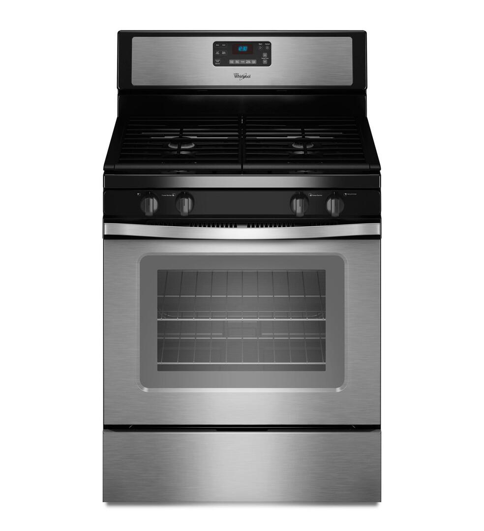 Whirlpool Wfg520s0as 30 Inch Gas Freestanding Range With