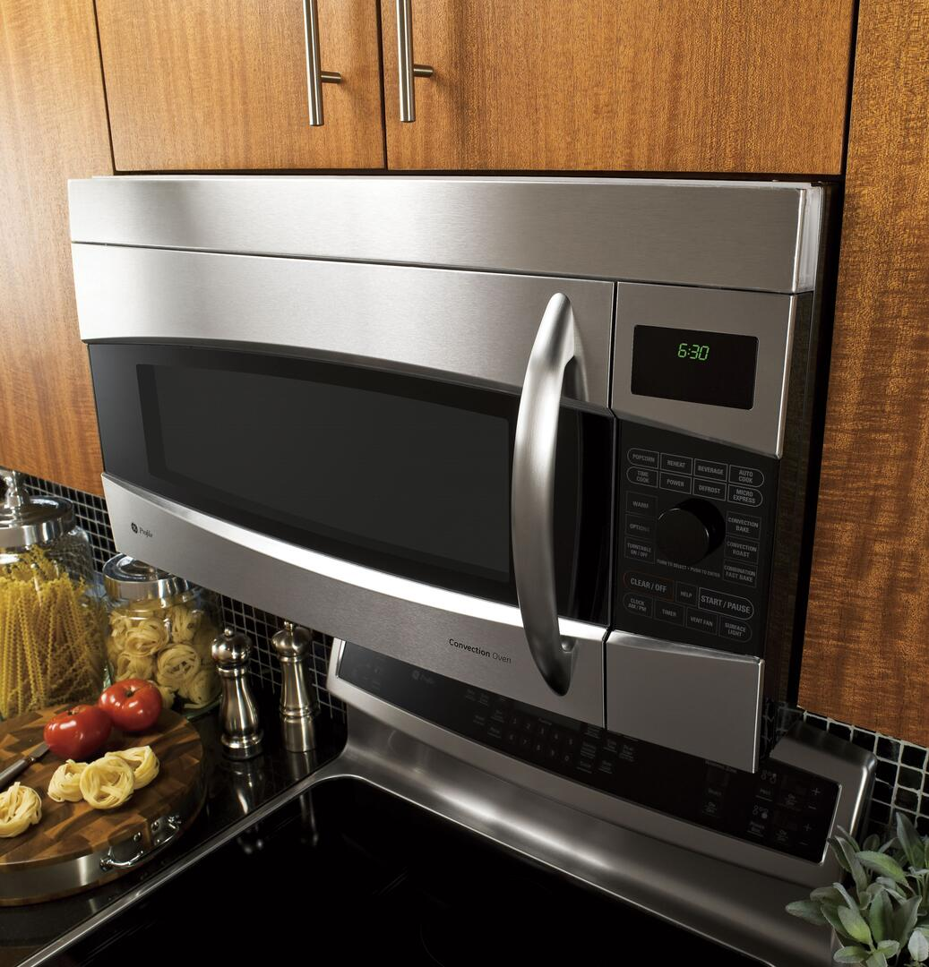 Best Above Oven Microwave: GE Profile PVM1790SRSS 1.7 Cu. Ft. Over The Range