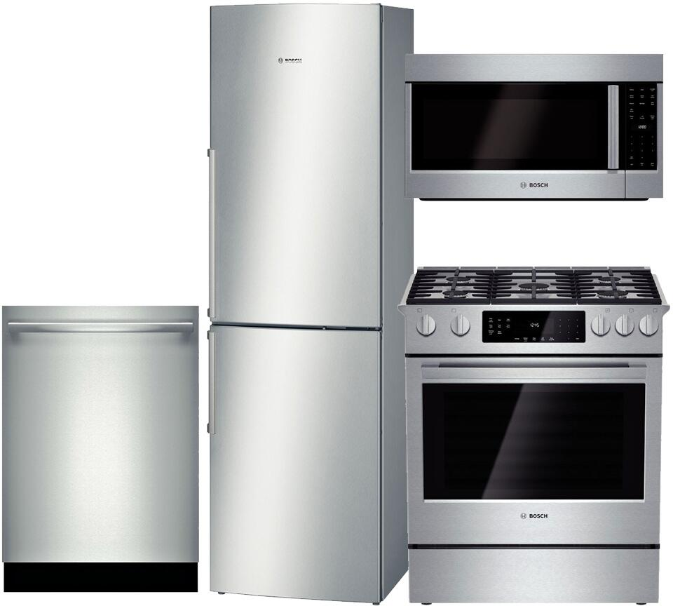 Bosch BOS4PCFSBFCDGFISSKIT1 500 Kitchen Appliance Packages