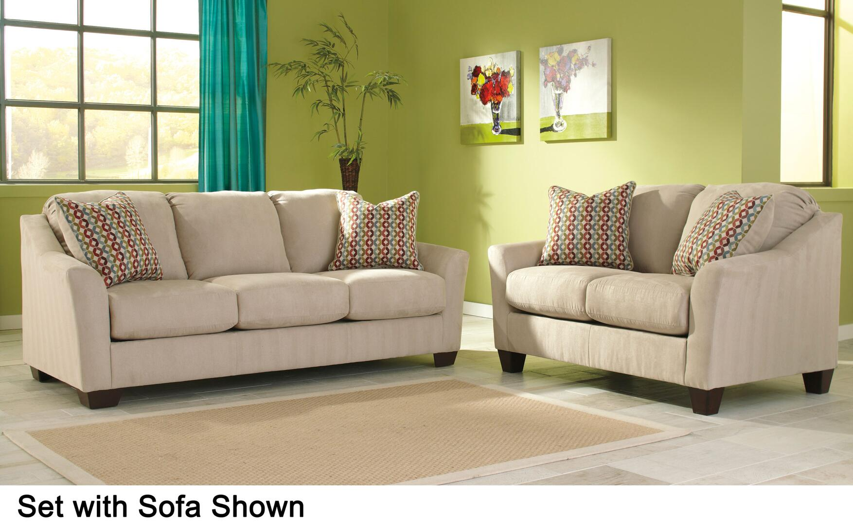 living room with sofa signature design by 95803qssl hannin living room 16812