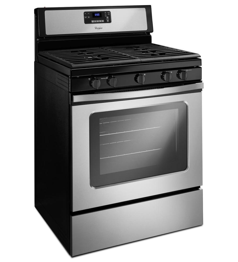 Whirlpool Wfg530s0eb 30 Inch Gas Freestanding Range With