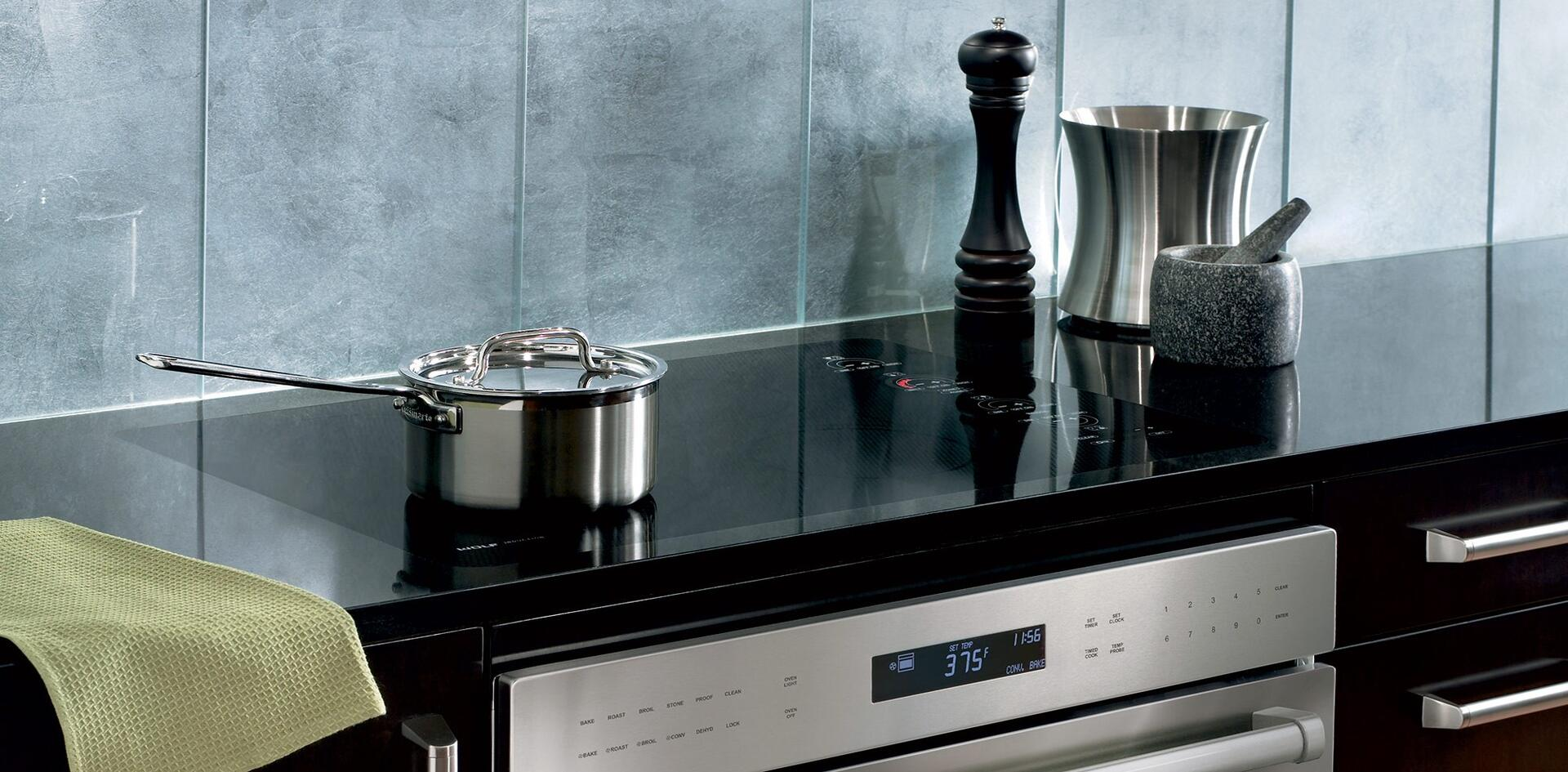 Wolf CT30IU 30 Inch 4 Element Yes Cooktop, in Black | Appliances ...
