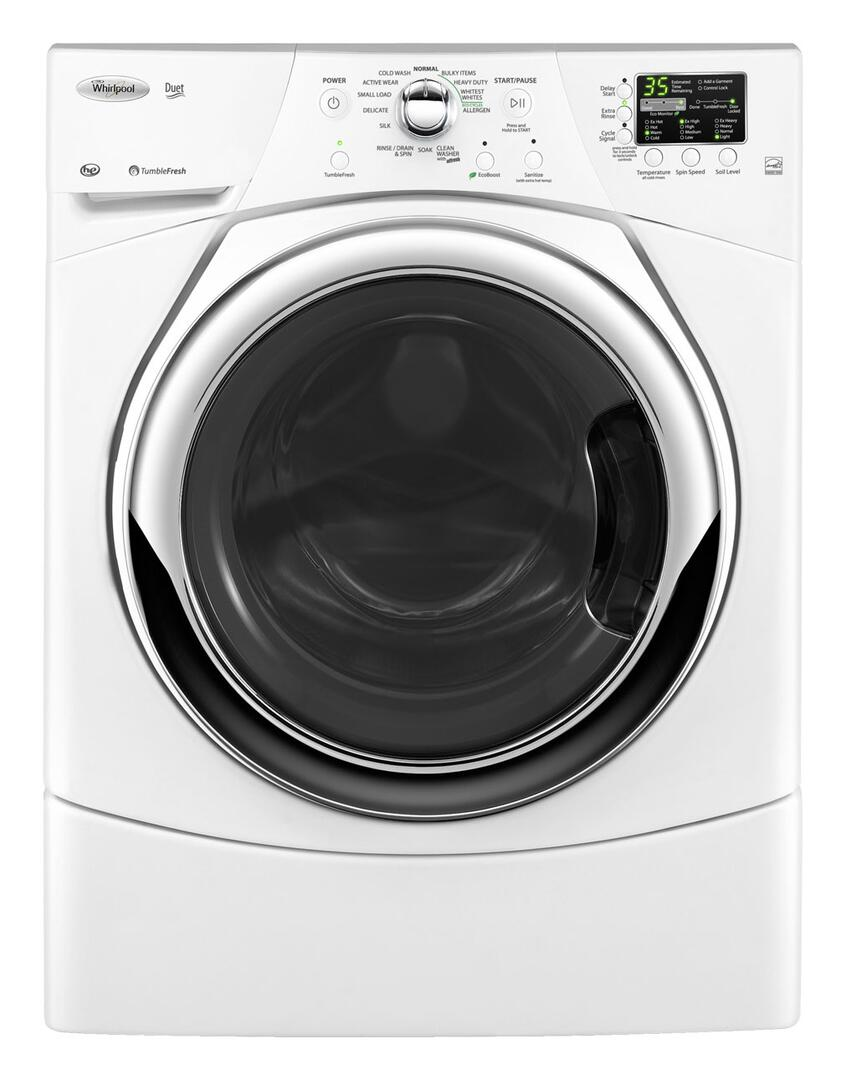 Whirlpool wfw9351yw 3 5 cu ft front load washer in Best front load washer