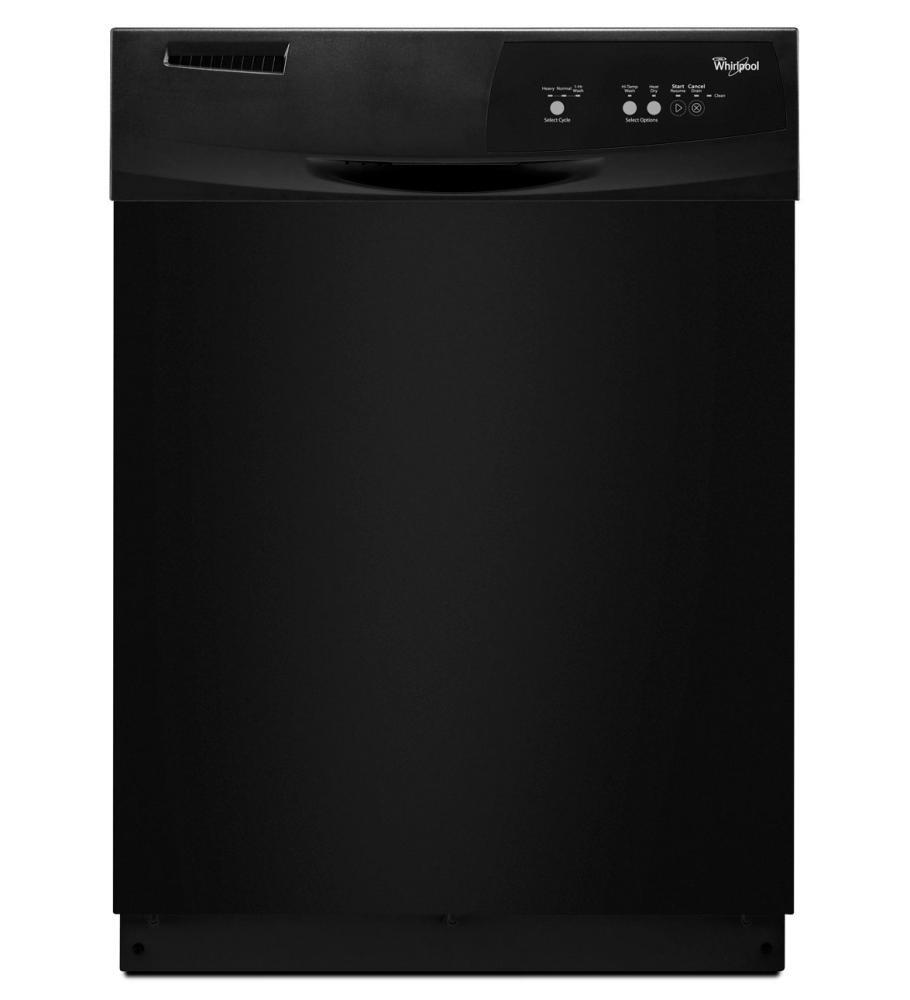 WDF111PABB whirlpool wdf111pabb 24 inch built in full console dishwasher with  at n-0.co