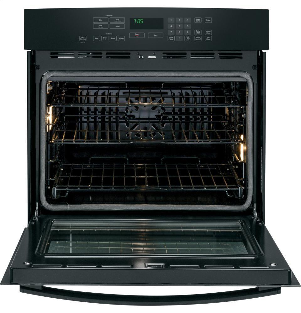 Ge Profile Pt7050dfbb 30 Inch Black Single Wall Oven