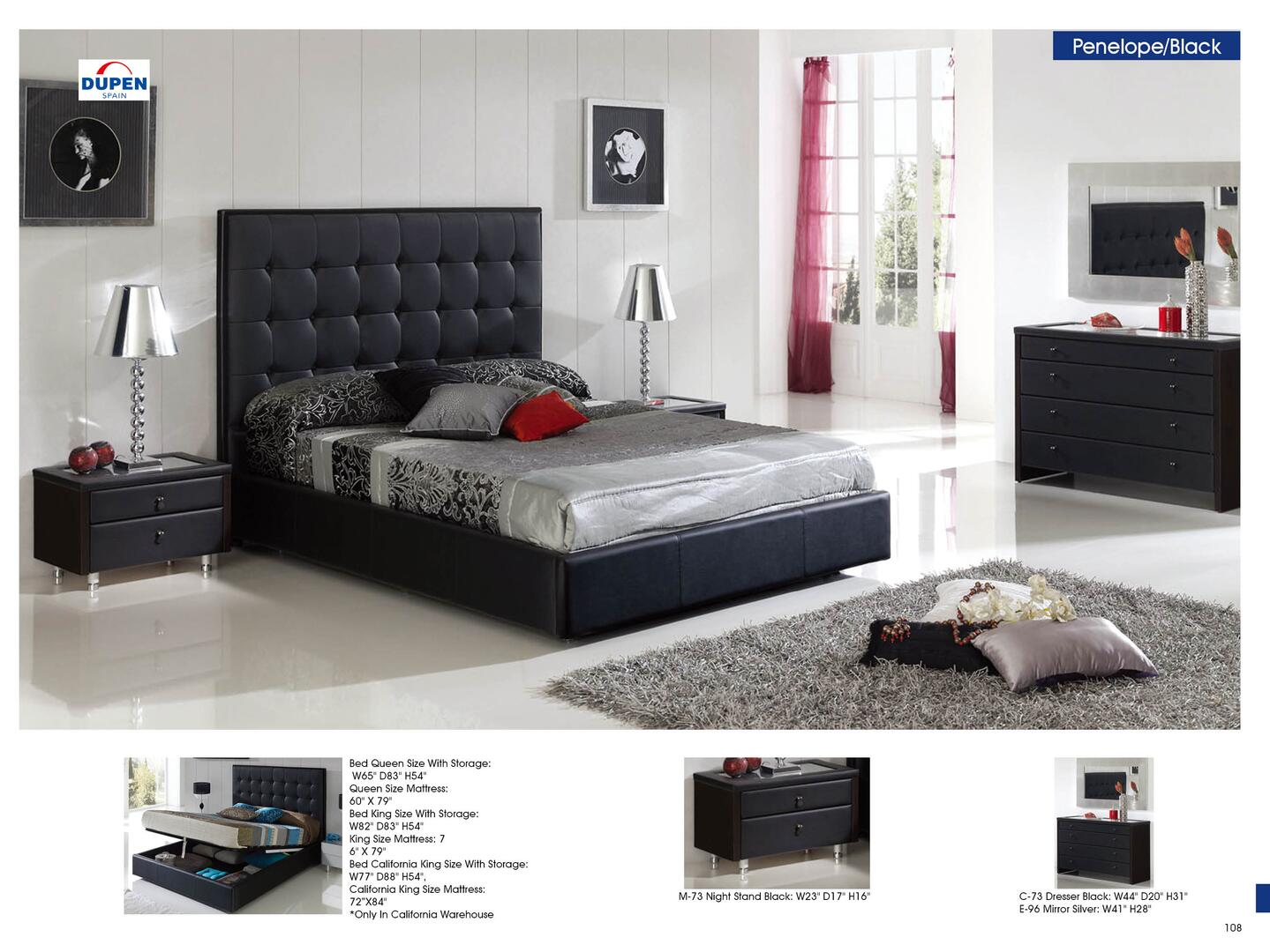 esf i2711 penelope series king size bed appliances 16329 | 22443acd8762624257227dedb2147e48 1244674