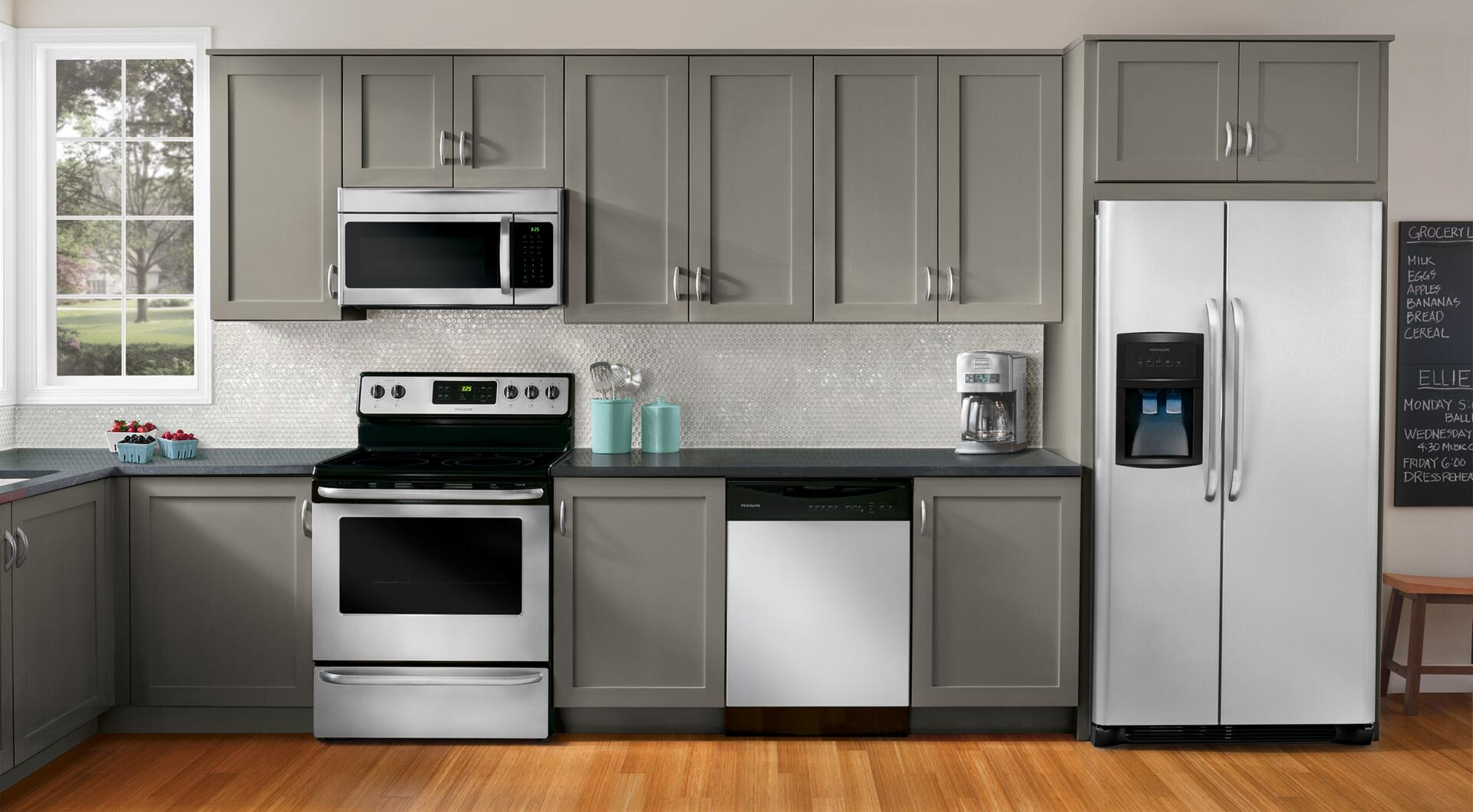 Uncategorized Frigidaire Kitchen Appliance Packages frigidaire ffbd2411ns 24 inch built in full console dishwasher 6