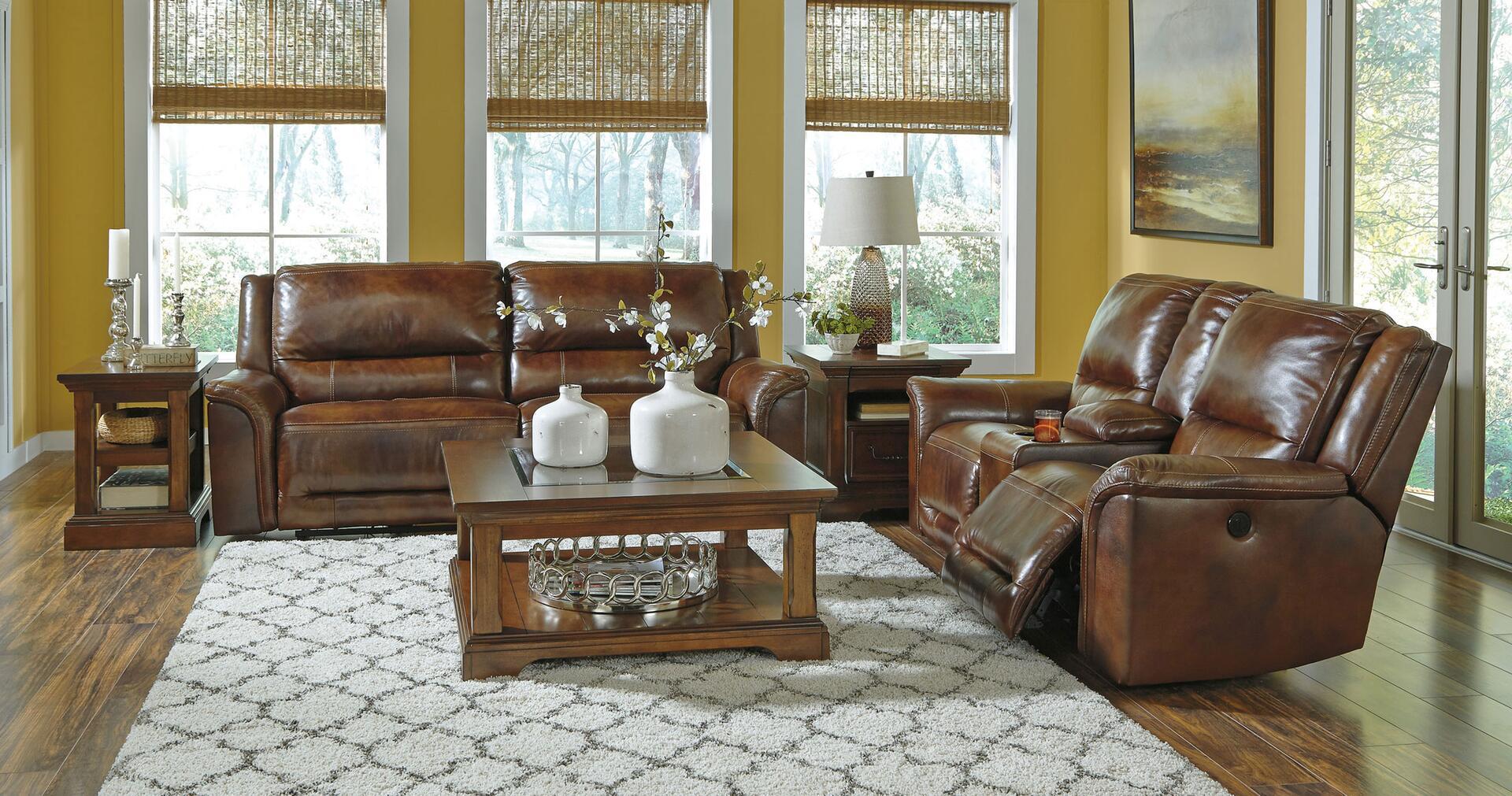 Signature Design by Ashley Jayron U Sectional Sofa with 2