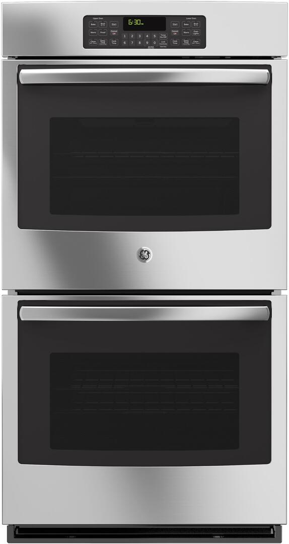 GE JK3500SFSS 27 Inch Electric Double Wall Oven on