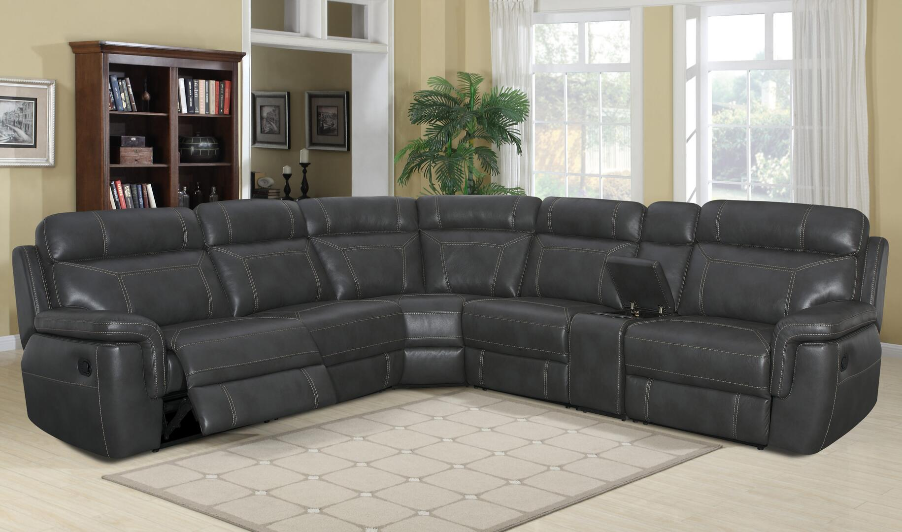 sofa reclining left sofas collections outlet with furniture chaise efo side belleview item lmg klaussner sectional