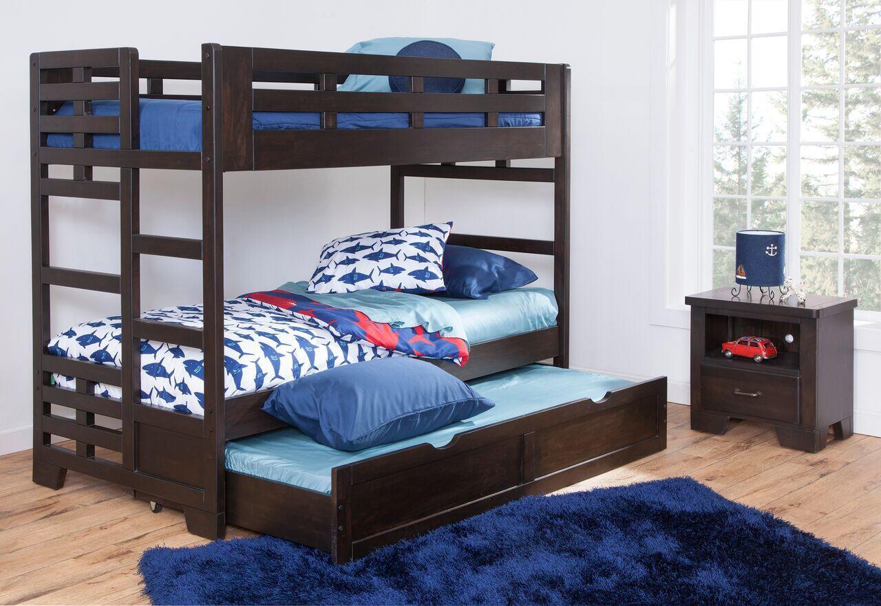American Woodcrafters 184033bnk906ns Billings Twin Bedroom S