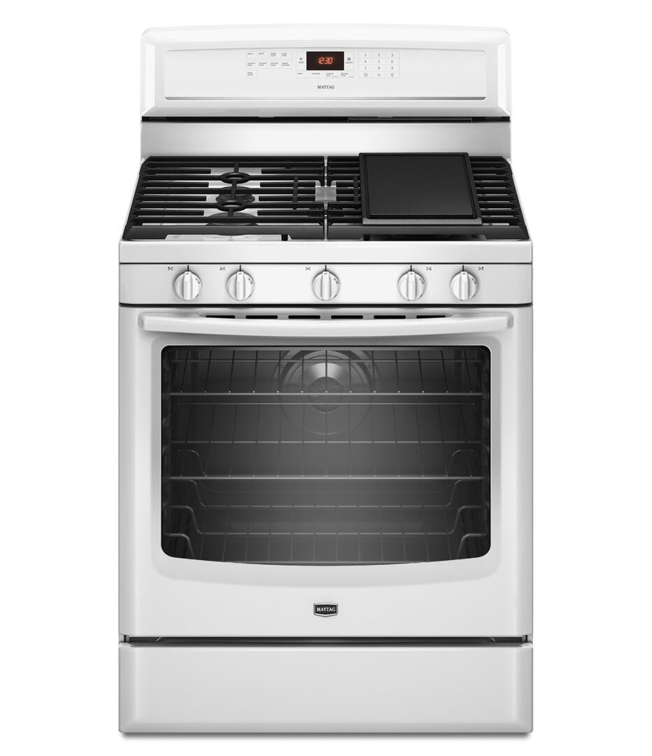 Gas Range Installation Service : Maytag mgr ab inch gas freestanding range with