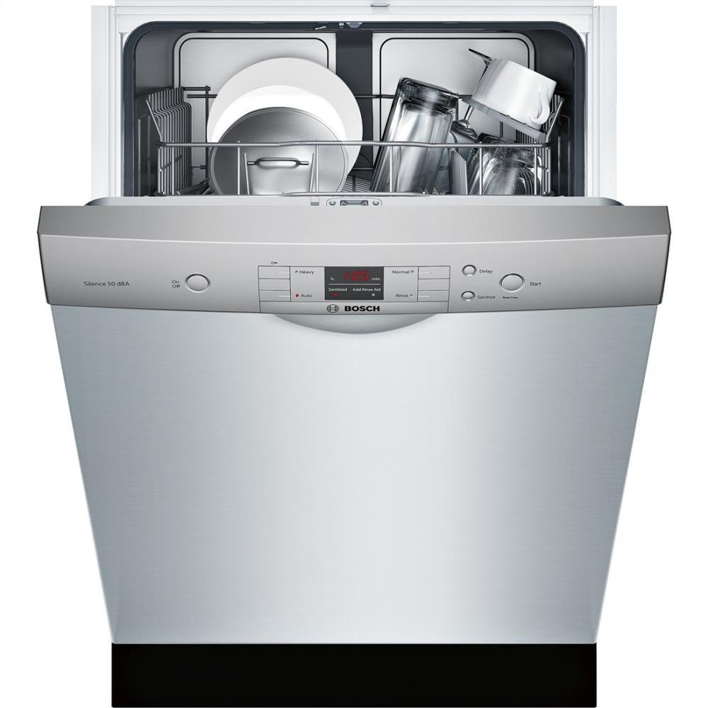 Bosch SHE33T55UC 24 Inch 300 Series Built In Full Console ...