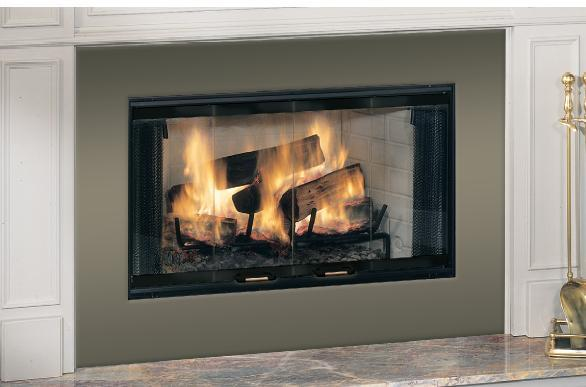Majestic BR42 Royalton Series Woodburning Fireplace | Appliances ...