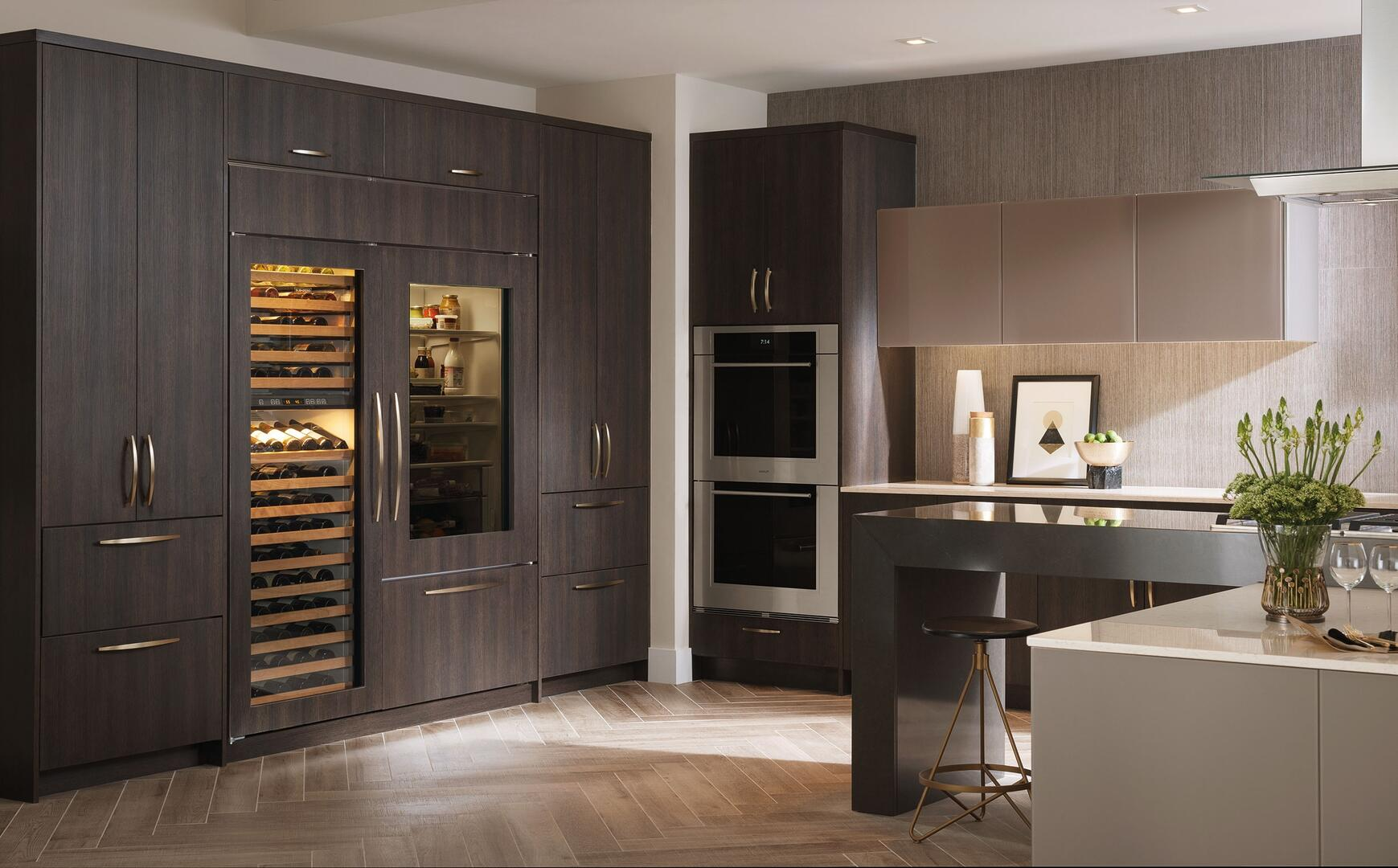 Sub Zero Ws30orh 30 Inch Panel Ready Built In Wine Cooler