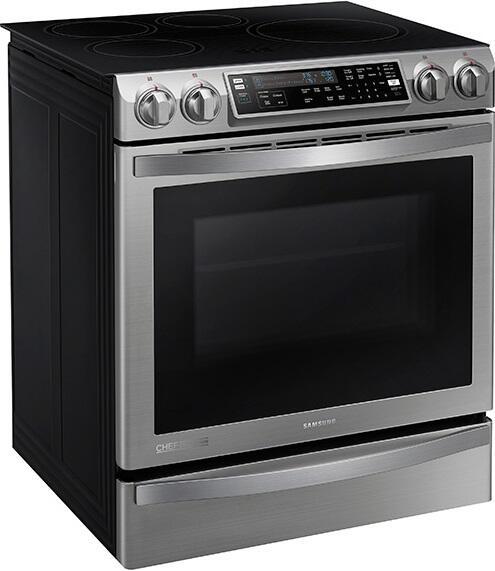 Chef Kitchen Appliances: Samsung NE58H9970WS 30 Inch Chef Series Slide-in Electric
