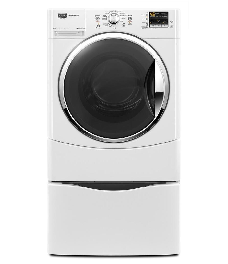 Maytag Mhwe301yw 3 5 Cu Ft Front Load Washer In White