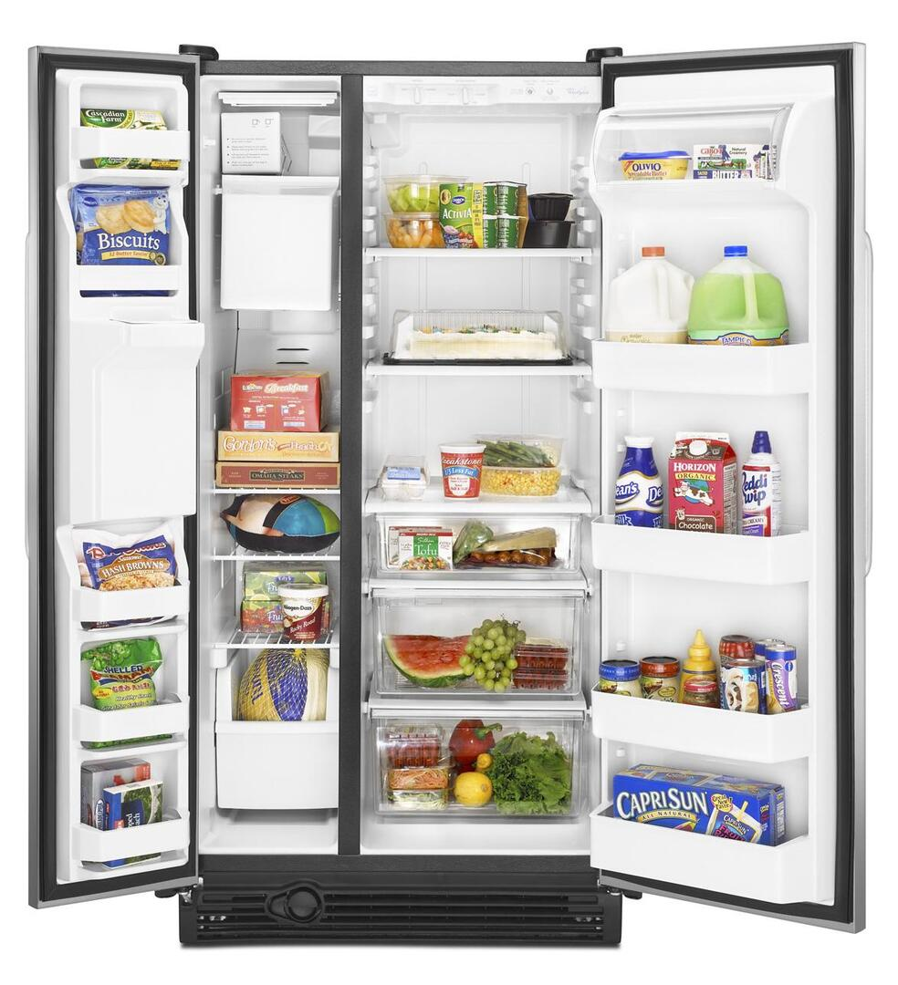 Abt Kitchen Appliance Packages Whirlpool Ed2gvexvd Freestanding Side By Side Refrigerator