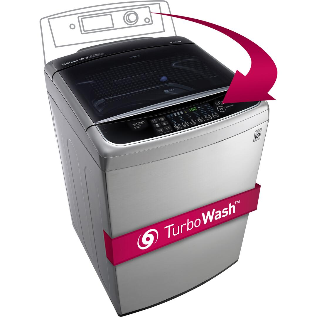 Lg Wt1701cv 27 Inch Turbowash Series 4 9 Cu Ft Top Load