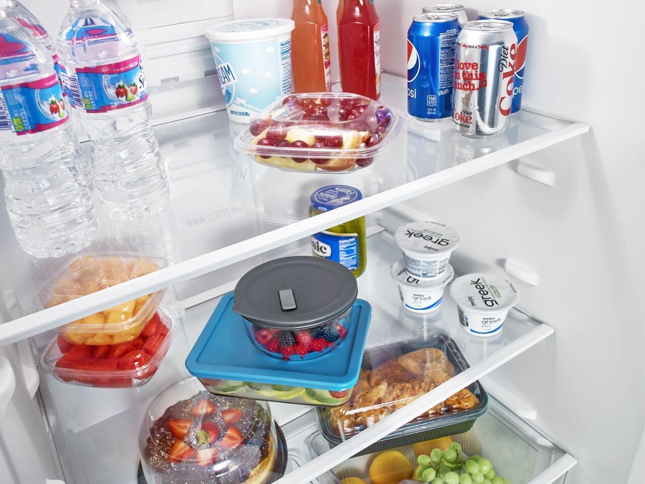 Amana Art318ffdw 30 Inch White Refrigerator With 182 Cu Ft Wiring Diagram On Oil Furnace Older Sample Installation 1 2