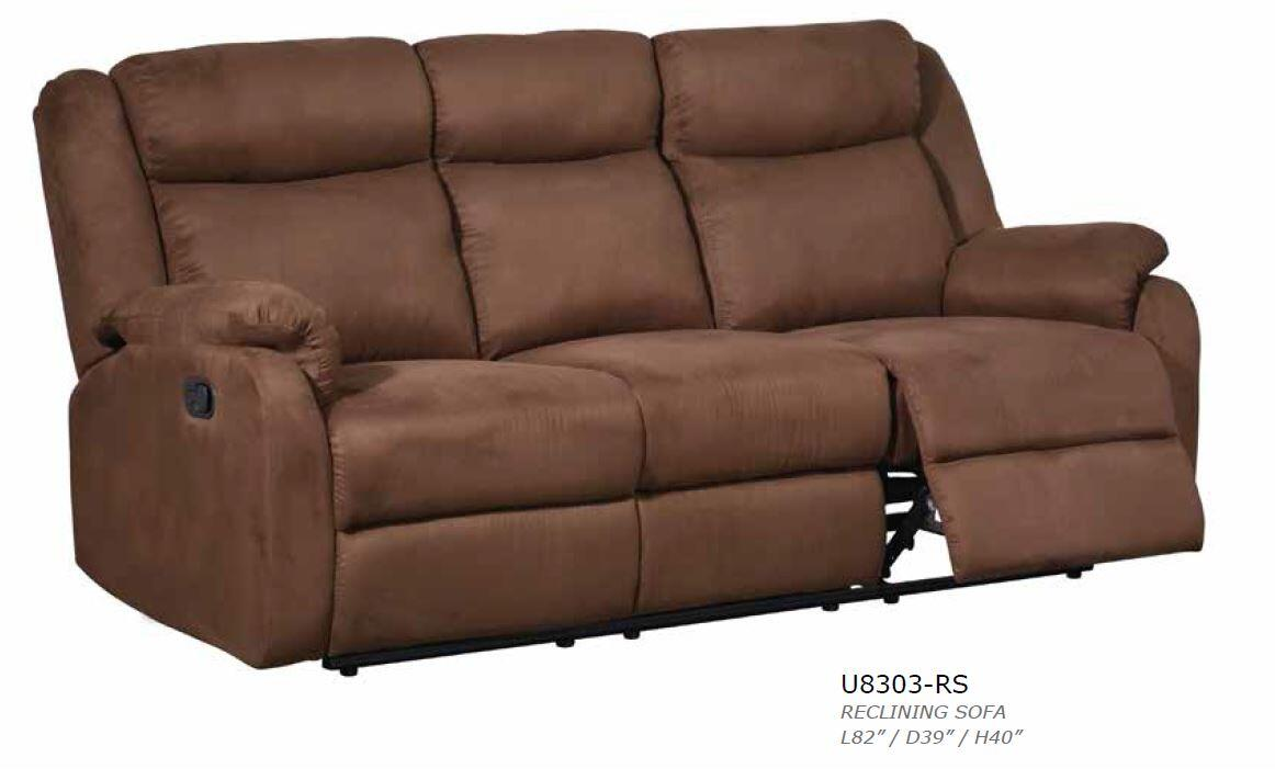 Global furniture usa u8303mfchocorsl living room sets for Furniture connection