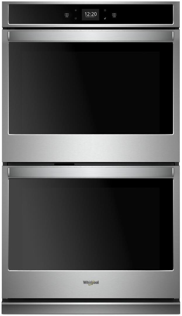whirlpool wod51ec0hs 30 inch smart stainless steel double wall oven appliances connection Installing Electric Wall Oven Wiring a Kitchen Island