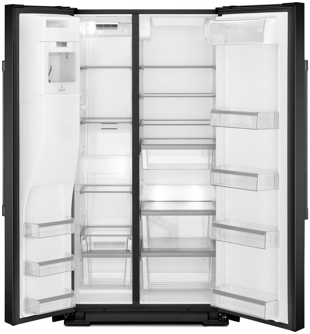 Maytag MSS26C6MFB 36 Inch Side by Side Refrigerator with 25.59 cu ...