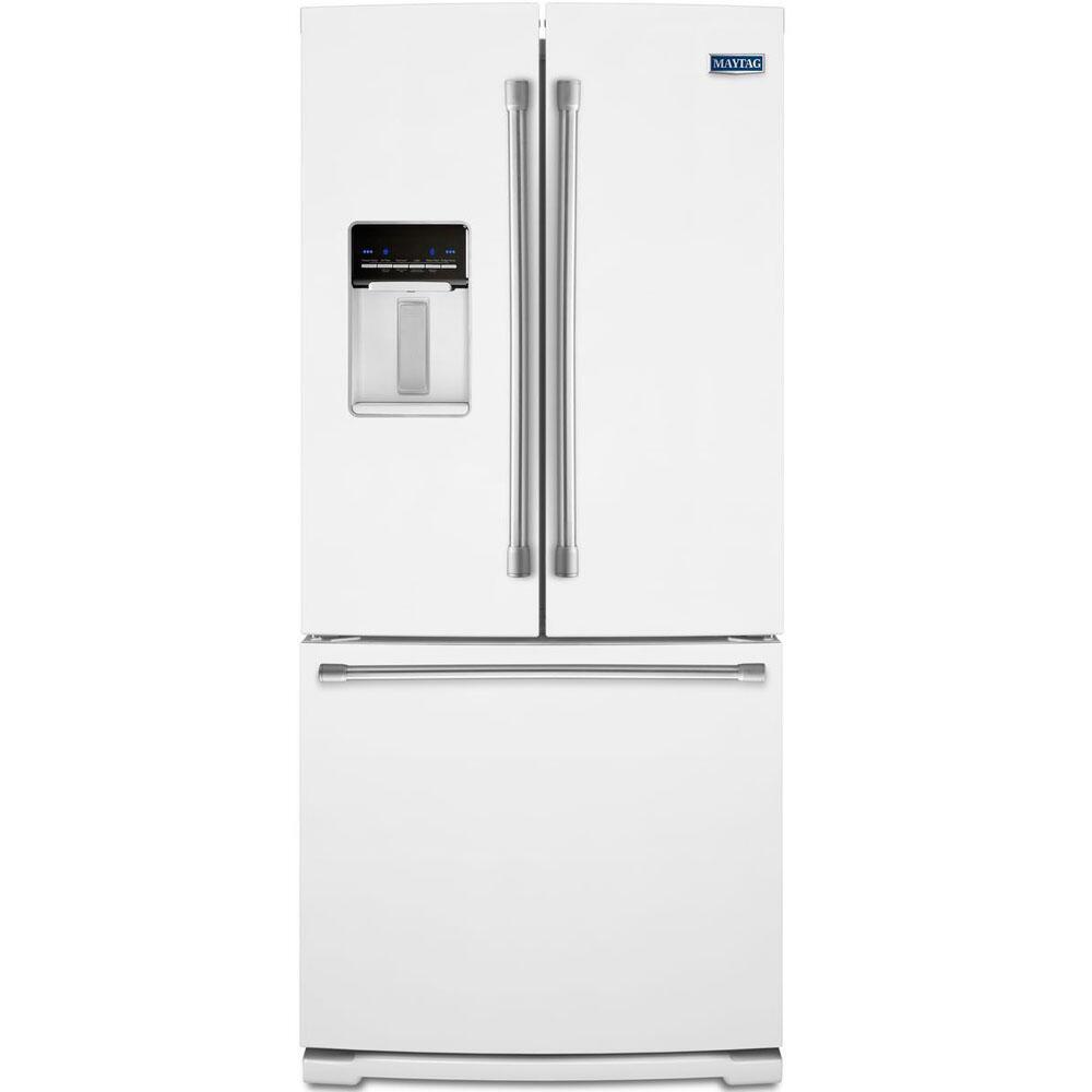 Maytag MFW2055DRH 30 Inch French Door Refrigerator with 19.7 cu. ft ...