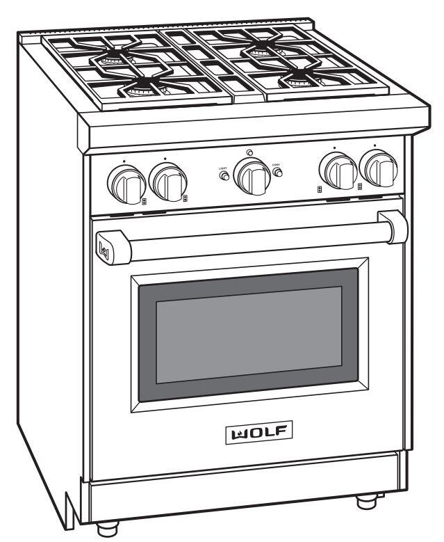 wolf gr304lp 30 inch stainless steel gas freestanding