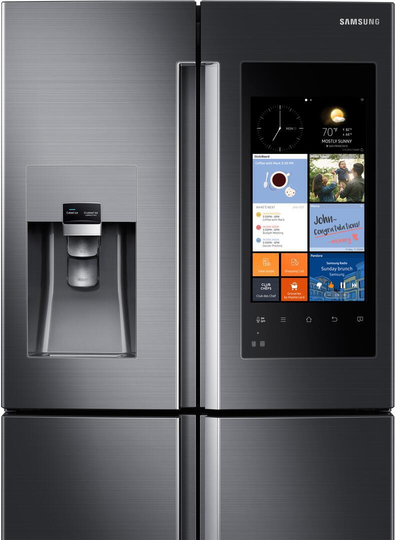 Samsung Rf22k9581sg 36 Inch Family Hub Series Counter