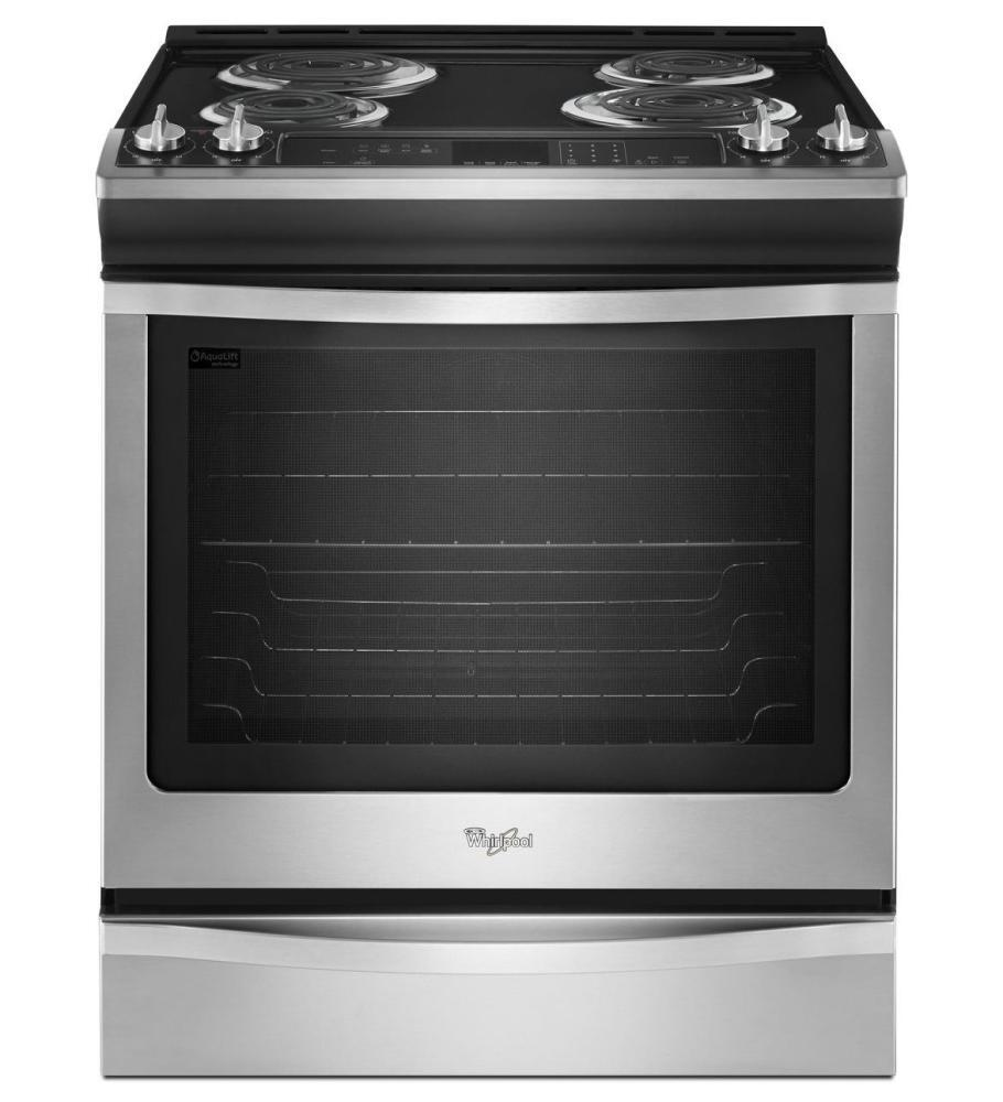 Whirlpool Wec530h0db 30 Inch Slide In Electric Range With
