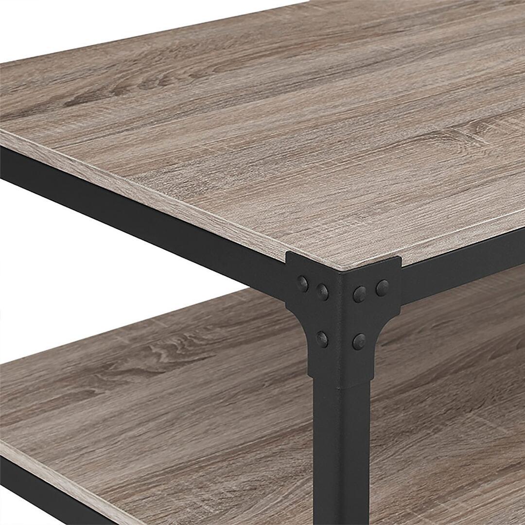 Walker Edison C46AICTAG Rustic Table