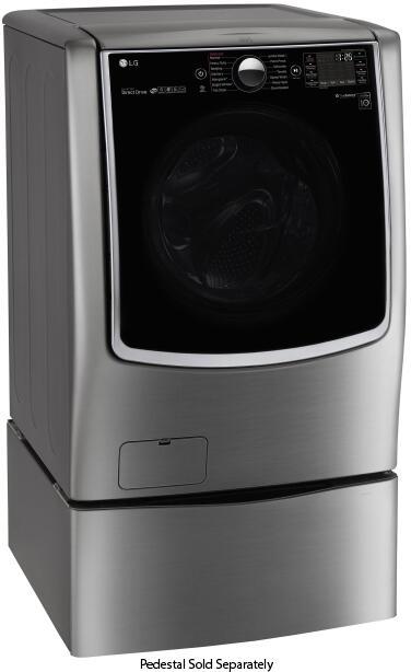 Lg Wm5000hva 27 Inch Turbowash Series Graphite Steel 4 5
