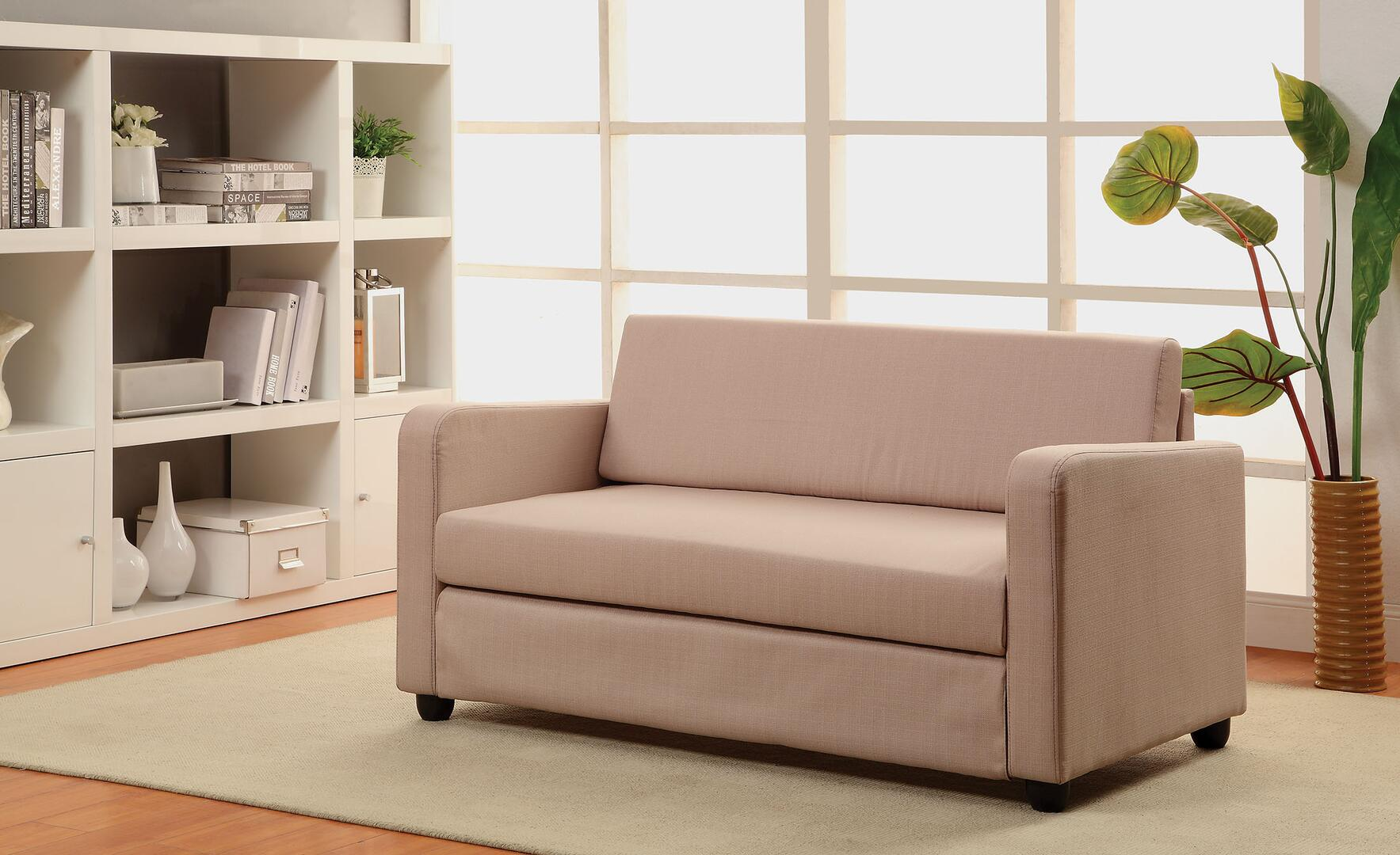 Acme Furniture Connall Collection 54 Adjustable Sofa With Removable
