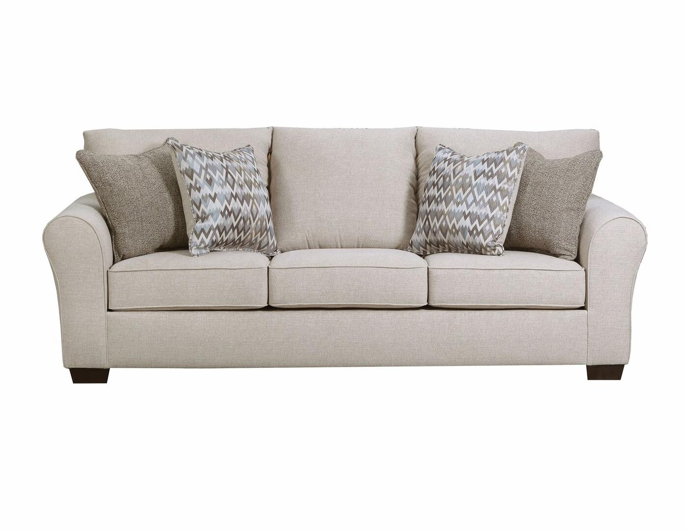 Boston Grey Linen Sofa Bed