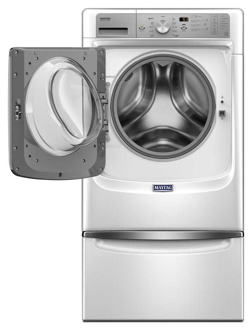 Maytag Mhw5500fw 27 Inch Heritage Series White 4 5 Cu Ft