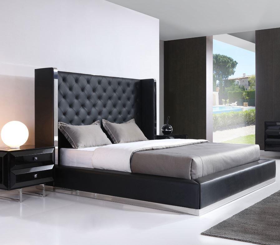 Whiteline Abrazo 3 Piece California King Size Bedroom Set